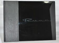 NEW SEALED RARE Limited Edition Honda Rune BLACK Coffee Table Book With CD's