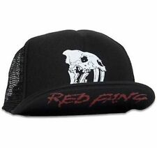 Red Fang Fang Logo Heavy Metal Band Rock Punk Gothic Rocker Trucker Hat Cap