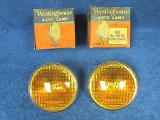 """1940's 50's FORD DODGE CHEVY 4-1/2"""" WESTINGHOUSE  SIGNAL LIGHT BULBS  NOS  217"""