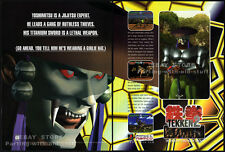 TEKKEN 2__Original 1997 Print AD / game promo__NAMCO / PlayStation advertisement