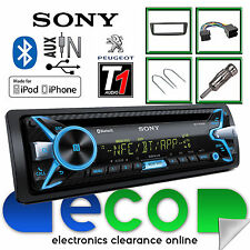 Peugeot 107 Sony Cd Mp3 Usb Bluetooth Manos Libres Ipod Iphone Radio estéreo kit