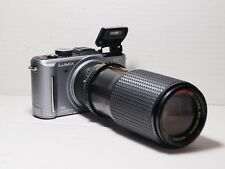 80-200mm = 160-400mm Lente Per Panasonic HD 4k Lumix G Micro 4/3 Digital SLR gh2 g6