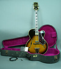 1968 Gibson Johnny Smith Sunburst Orange Label Hollowbody Archtop Vintage Guitar