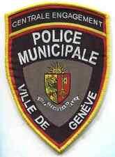 Polizei Schweiz:Armabz:Ville de Geneve.Centrale Engagement.13 cm.