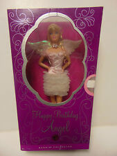 Barbie Collector Doll Happy Birthday Angel Mattel 2008