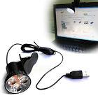 3 LED USB Plug Clip-on Light Lamp Bulb For Laptop PC