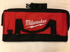 "New Milwaukee M12 M18 22"" Large Heavy Duty Contractors Tool Bag 22"" x 11"" x 12"""