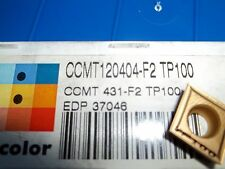 New Seco CCMT120404 F2 TP100 CCMT 431 F2 TP100 Buy it Now=8 pcs Free Shipping