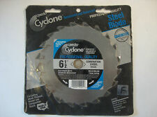 "New Credo Cyclone 6-1/2"" Combination Chisel Saw Blade Professional 10225"