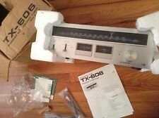 Vintage Pioneer TX-606  Stereo AM/FM Tuner w/ Metal Case-NEVER USED- IN OPEN BOX
