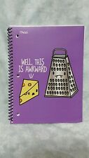 """Mead Loyal Army Notebooks 70 Sheet College Rule """" Well This Is Awkward """""""