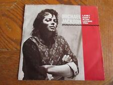 45 W/PS~MICHAEL JACKSON & Siedah Garrett I Just Can't Stop Loving You-