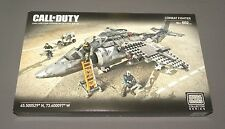 Call of Duty Combat Fighter Jet Plane Mega Bloks Collector Series Set CNG86