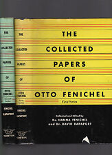 The Collected Papers of Otto Fenichel 1st and 2nd Series (2 vols complete) 1954