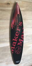 Makers Mark Bourbon Whisky Surfboard