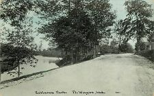 1907-1915 Postcard; Road in Robinson Park, Ft. Wayne IN Allen County Posted