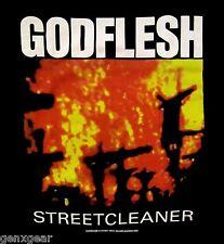 GODFLESH cd cvr STREETCLEANER Official SHIRT SMALL new