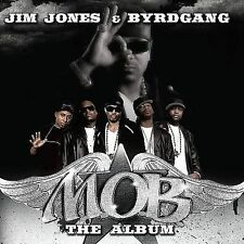 JIM JONES & BYRDGANG - M.O.B.: The Album [Clean] rap/hiphop CD