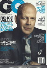 Bruce Willis GQ Magazine Mar 2013 Online Hookups Game of Thrones SEALED