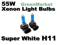 Acura 11 05-07 RL/09-11 TL Fog Light H11 Xenon- 55w Super White Bulbs