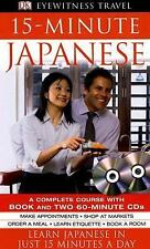 15-Minute Japanese by Mitsuko Maeda-Nye, Dorling Kindersley Publishing Staff...