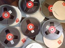 BASF  -  Lot of 6 Reel to Reel Tapes 1800 ft