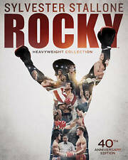 Rocky Heavyweight Collection (Rocky I-V + Rocky Balboa)Bluray 6-Disc Box Set New