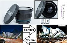 HD Super Wide Fisheye Lens For Panasonic HDC-SDT750K 3D