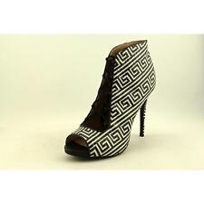 Zigi Soho Martyr Women US 11 Black Peep Toe Ankle Boot Pre Owned  1796