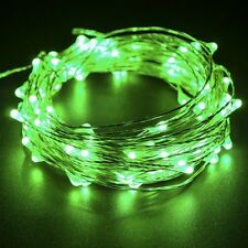 20Leds 2m Micro LED Battery Operated String Lights Silver Copper Wire Xmas Decor