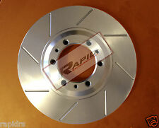 DISC BRAKE ROTORS  MERCEDES SL500 & CLS CLASS SLOTTED FRONT PAIR 300MM