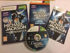 XBOX 360 KINECT GAME MICHAEL JACKSON THE EXPERIENCE +COMPLETE PAL GWO Inc' DLC