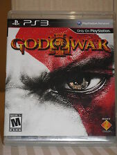 God of War III game for PlayStation 3 Sony PS3 in Original Case w/ Manual