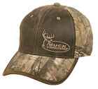 BUCK COMMANDER Realtree Xtra Camo & Brown Weathered/Oiled Look Hat/Cap BKC-002