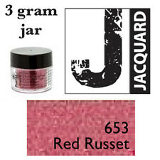 Pearl Ex Mica Powdered Pigments - 3g bottles - RED RUSSET 653