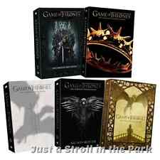 Game Of Thrones: TV Series Complete Seasons 1 2 3 4 5 Box / DVD Set(s) NEW!