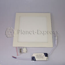 DOWNLIGHT LED Cuadrado 18W EXTRAPLANO ALTA INTENSIDAD Blanco Calido. Driver 220V