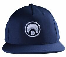 Osiris Skateboarding Navy White Standard Logo Snapback Baseball Hat Cap NWT