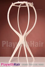 Sturdy Collapsible Wig Stand - Care For Your Wigs!