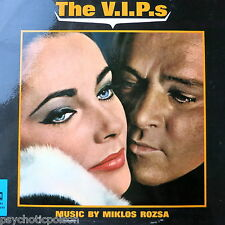 The v.i.p.s - OST LP uk 1963 MGM – C 951 Miklos rozsa-E. taylor & r. burton