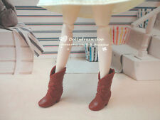 Doll Shoes ~ DAL Doll Lovely Brown Flower short Boot 1pair