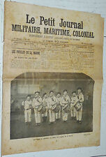 28/02 1904 JOURNAL MILITAIRE MARITIME COLONIAL 12 MANDCHOURIE BALKANS MARINE