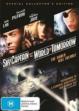 Sky Captain And The World Of Tomorrow (DVD, 2013) Jude Law, Angelina Jolie