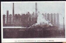 1924  --  ALLEMAGNE   LES HAUTS FOURNEAUX DES USINES THYSSEN A MULHEIM  W029