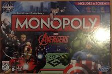 NUOVO Marvel Avengers Monopoly Board Game-Brand New & Sealed veloce P & P