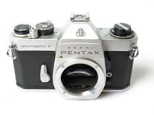 Pentax Spotmatic F chrome body *READ PLEASE*