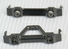 Axial SCX10 Jeep Honcho UpGraded METAL BUMPER BRACKET MOUNTS Front + Rear Set