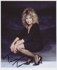 Tina Turner SIGNED Photo 1st Generation PRINT Ltd, No'd + Certificate / 5