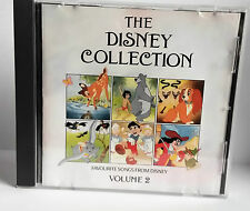 WALT DISNEY - THE DISNEY COLLECTION VOLUME 2 CD FAVOURITE DISNEY SONGS