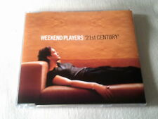 WEEKEND PLAYERS - 21ST CENTURY - 3 MIX DANCE CD SINGLE